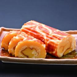 マーブル模様のチーズ伊達巻